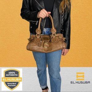 🌻💯 Chloe Shoulder bag Paddington Browns Leather